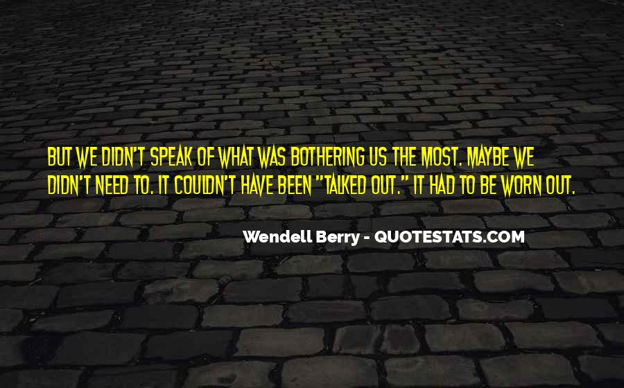 Wendell Quotes #48678