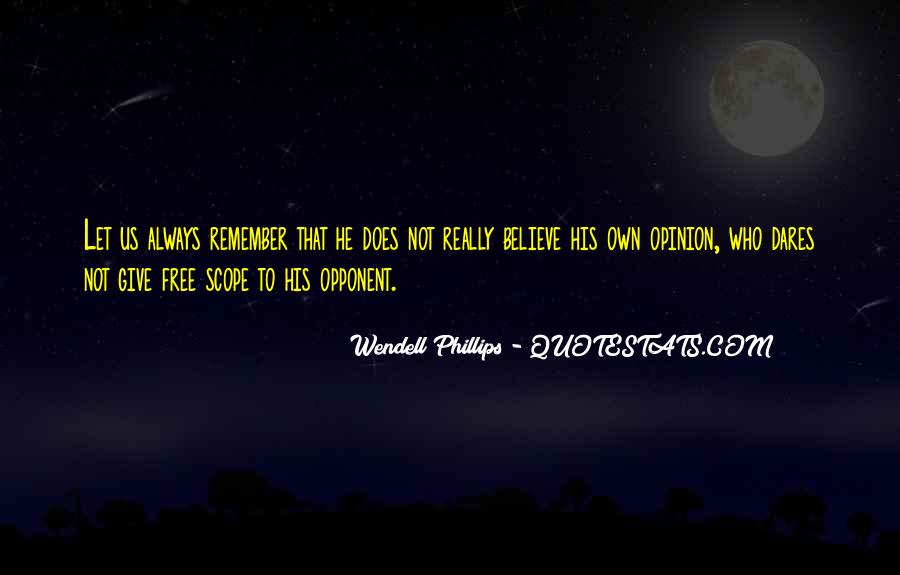 Wendell Quotes #4912