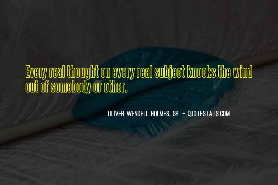 Wendell Quotes #64294