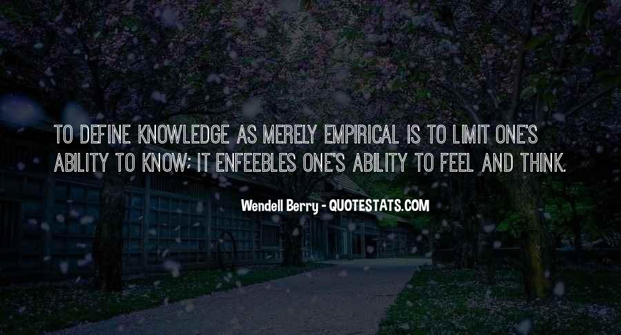 Wendell Quotes #80857