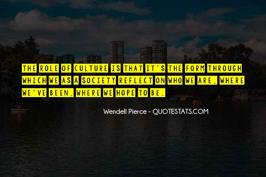 Wendell Quotes #9220