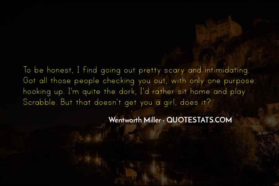 Wentworth Miller Best Quotes #213275