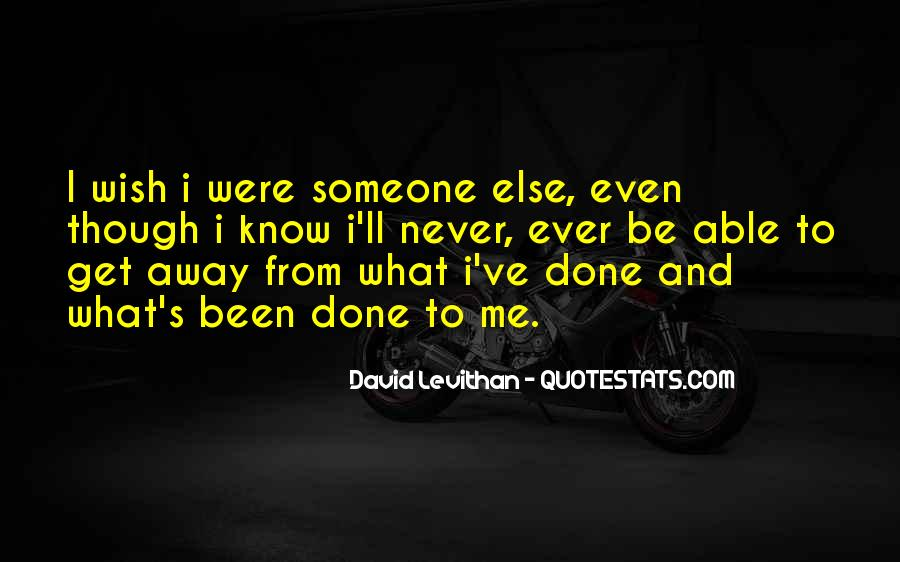 Were Done Quotes #5392