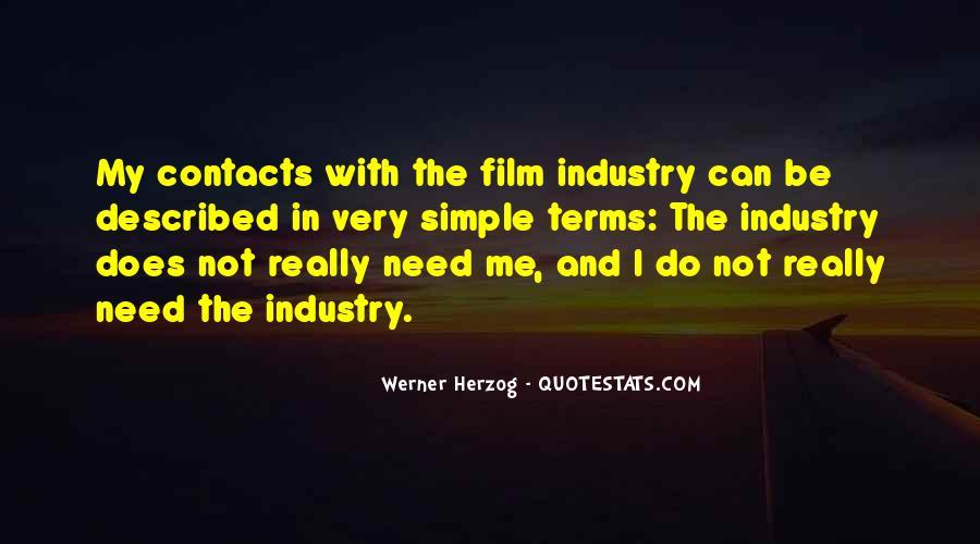 Werner Herzog Film Quotes #1102021