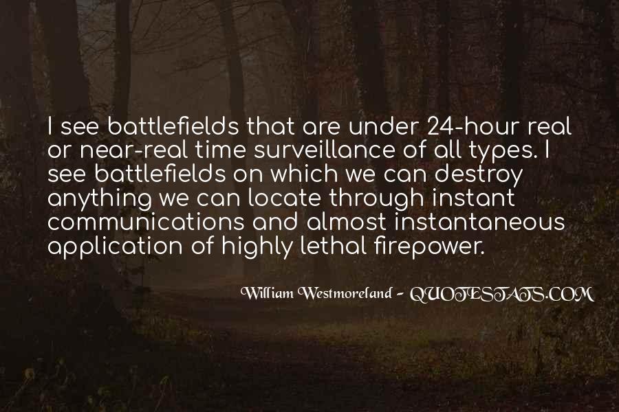 Westmoreland Quotes #1777596