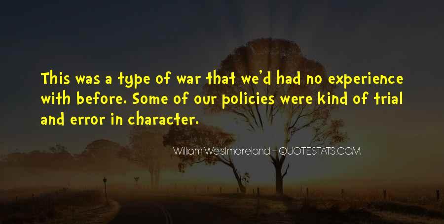 Westmoreland Quotes #670477