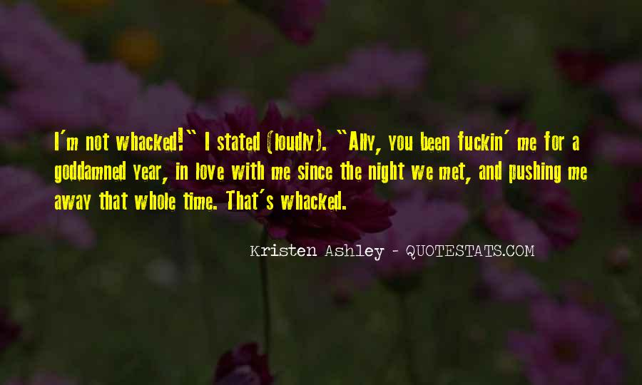 Whacked Out Quotes #746226