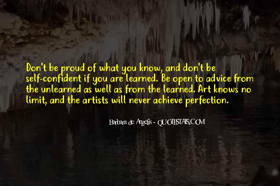 What Are You Proud Of Quotes #1394963