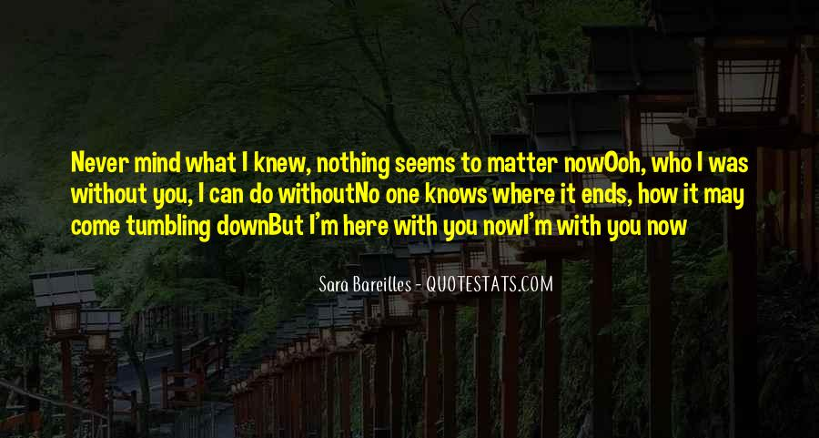 What Can I Do Without You Quotes #172103