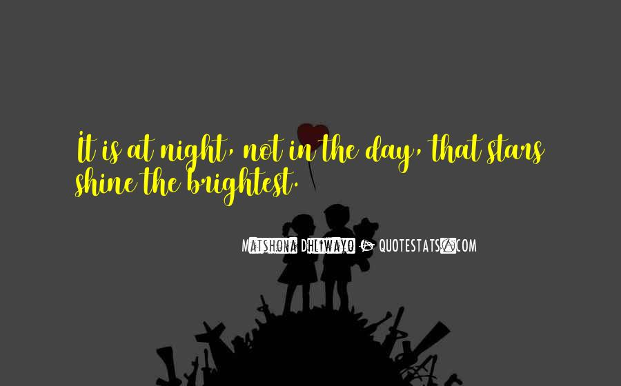 Quotes About Stars At Night #1033316