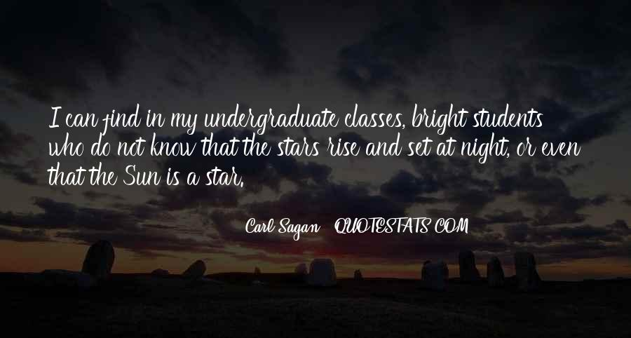 Quotes About Stars At Night #1136889