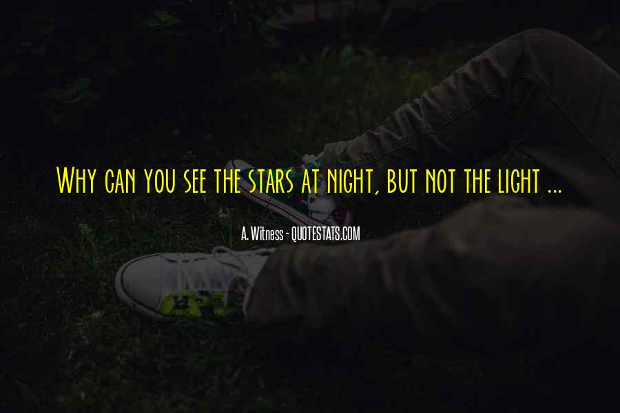 Quotes About Stars At Night #1142958