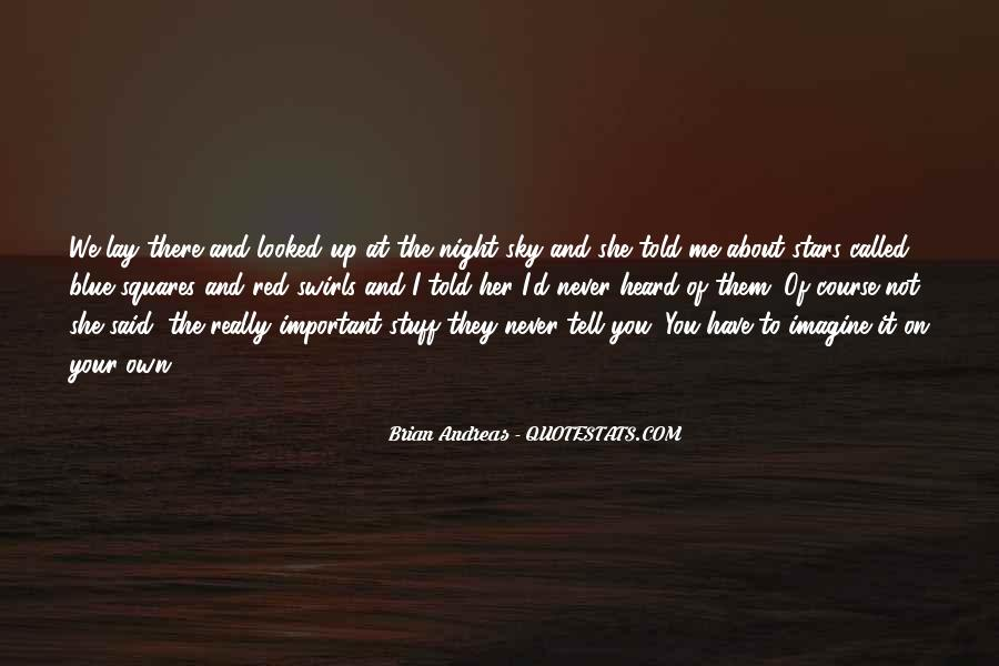 Quotes About Stars At Night #119569