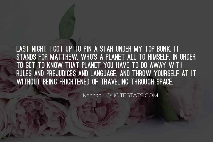 Quotes About Stars At Night #129807