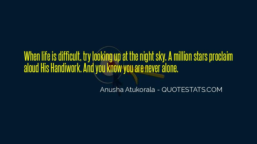 Quotes About Stars At Night #2146