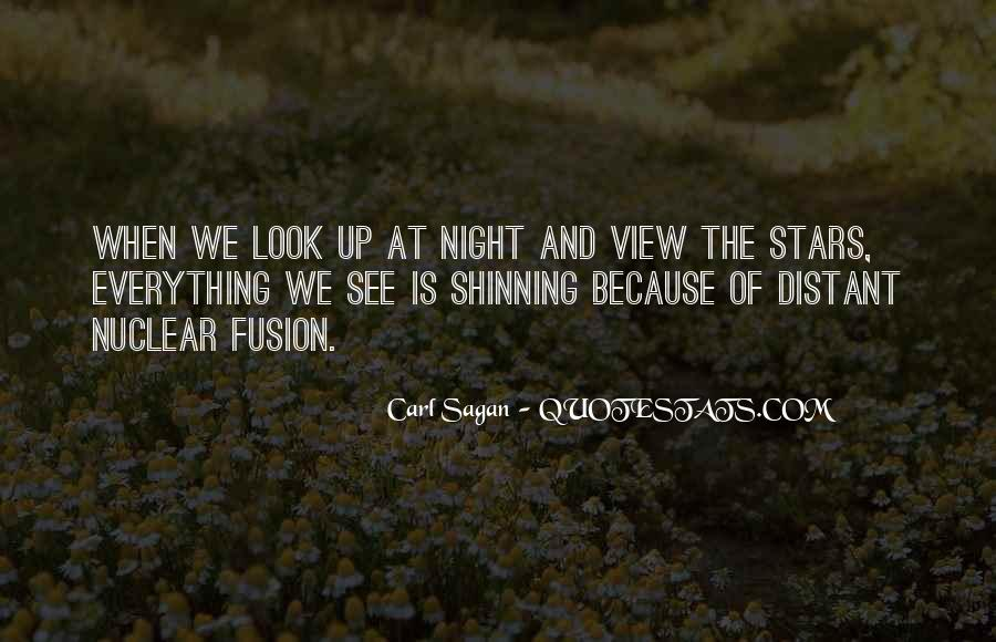 Quotes About Stars At Night #26047