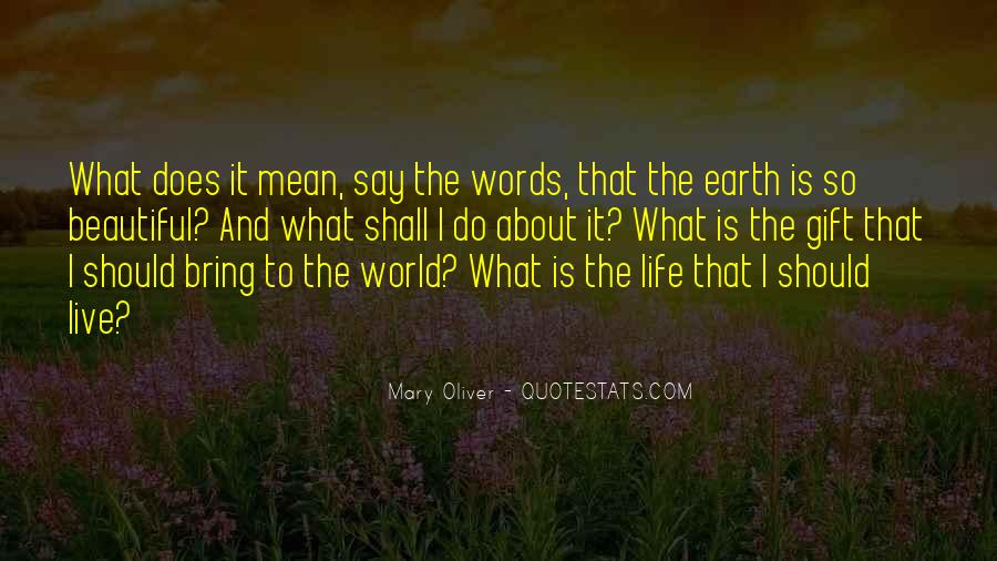 What Does It Mean Quotes #363097