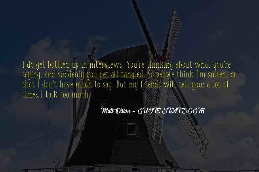What Friends Don't Do Quotes #1217773