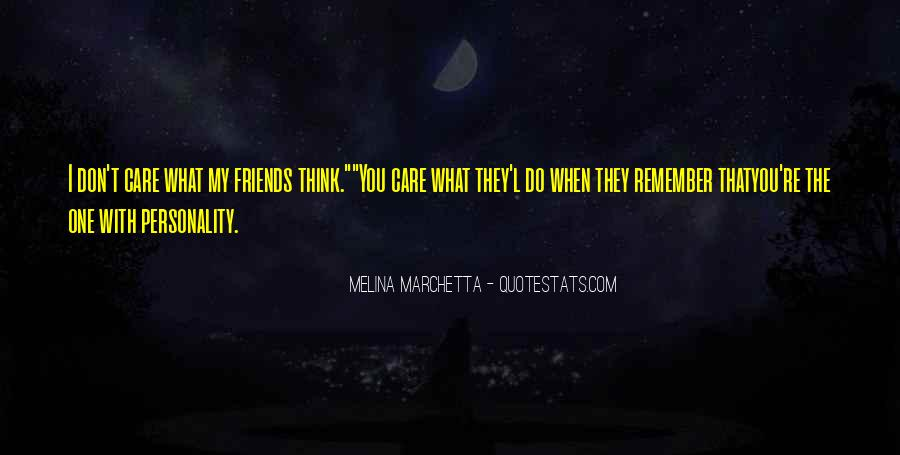 What Friends Don't Do Quotes #485121
