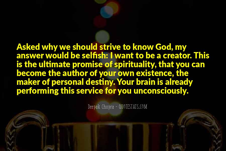 What God Wants You To Know Quotes #15397