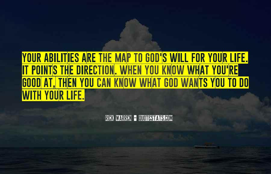 What God Wants You To Know Quotes #1870893