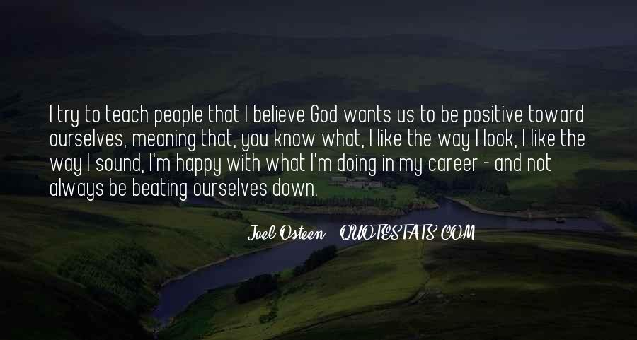 What God Wants You To Know Quotes #224990
