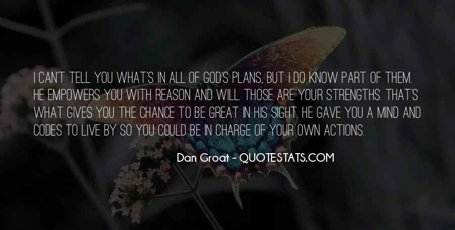 What God Wants You To Know Quotes #5292