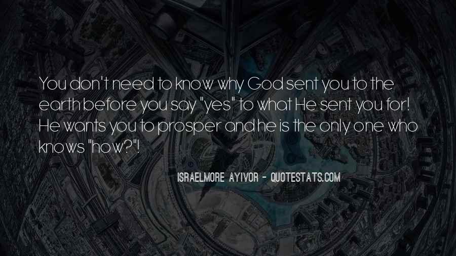 What God Wants You To Know Quotes #896900