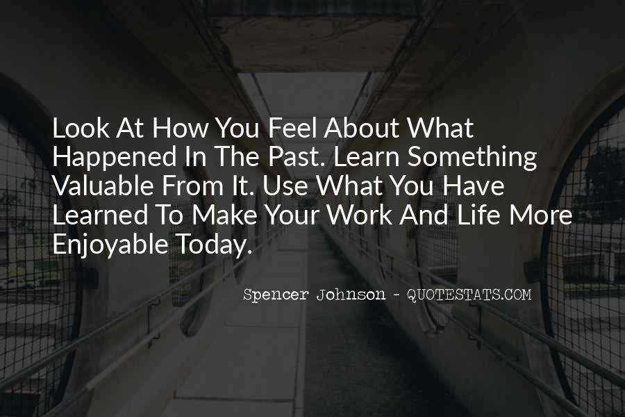 What Happened Today Quotes #1005973
