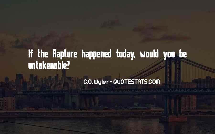 What Happened Today Quotes #1015501