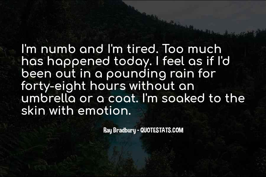 What Happened Today Quotes #1270319