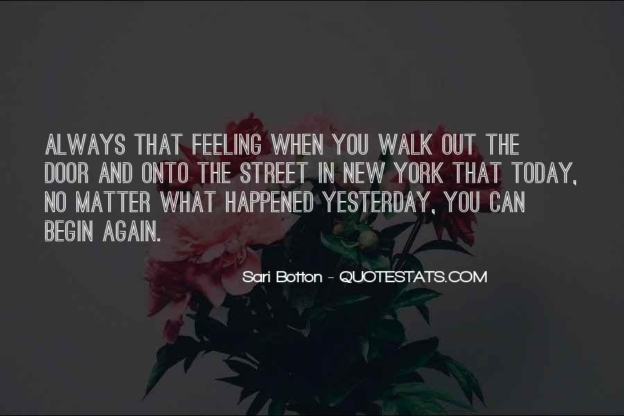 What Happened Today Quotes #1557249