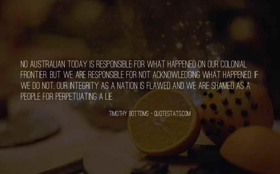 What Happened Today Quotes #1572427