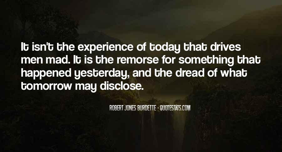 What Happened Today Quotes #326761