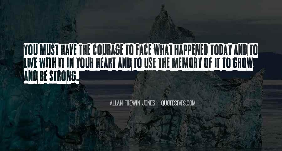 What Happened Today Quotes #780209
