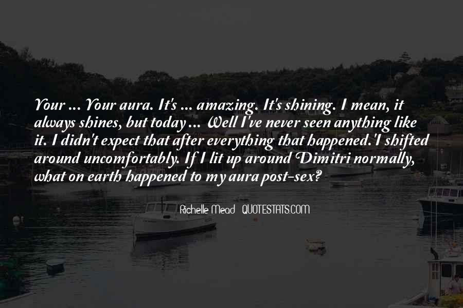 What Happened Today Quotes #822621