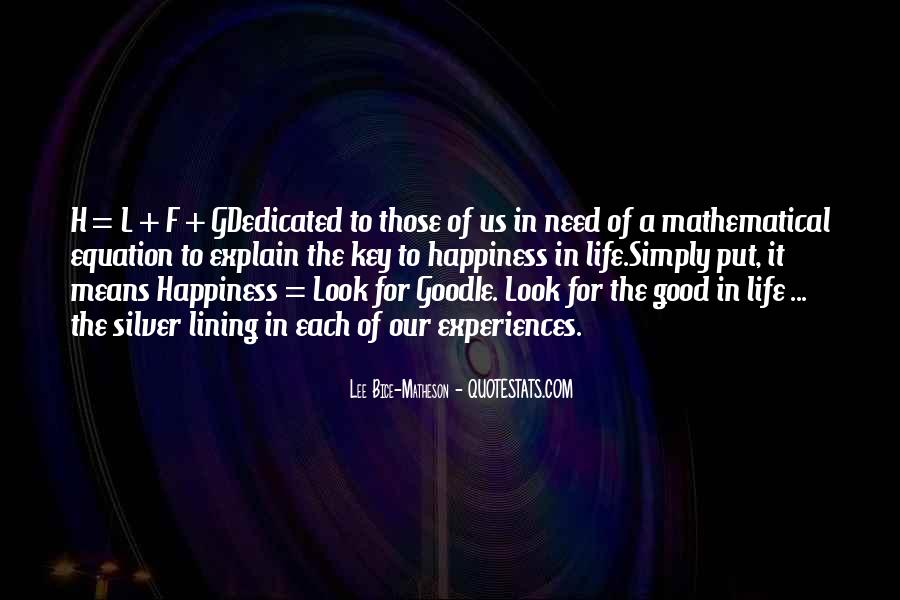 What Happiness Means To Me Quotes #33606