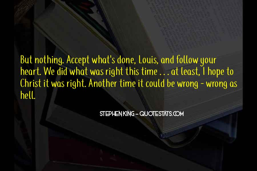What I've Done Wrong Quotes #1149692