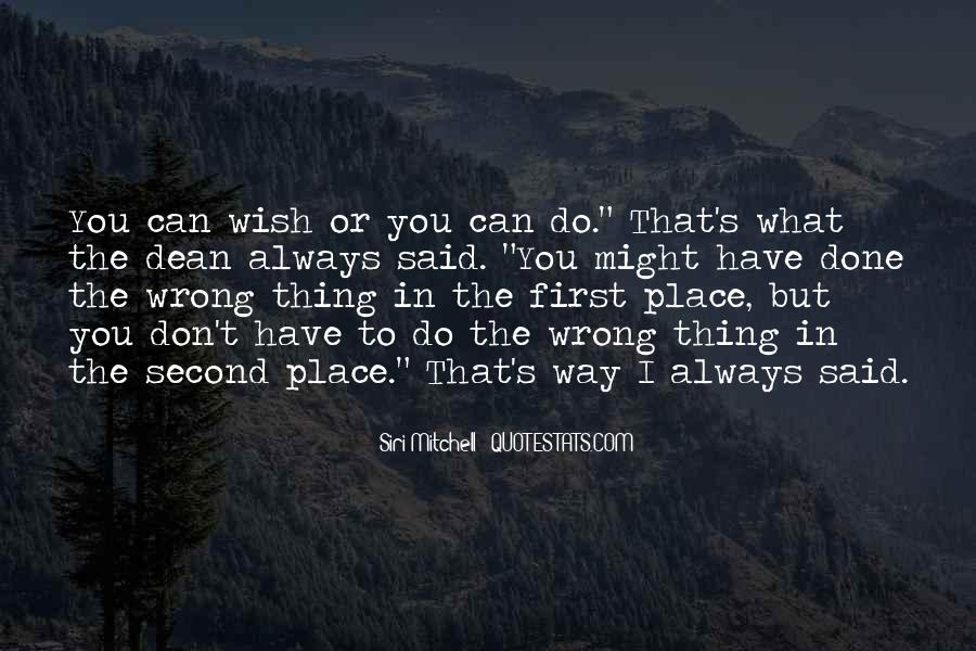 What I've Done Wrong Quotes #1643457