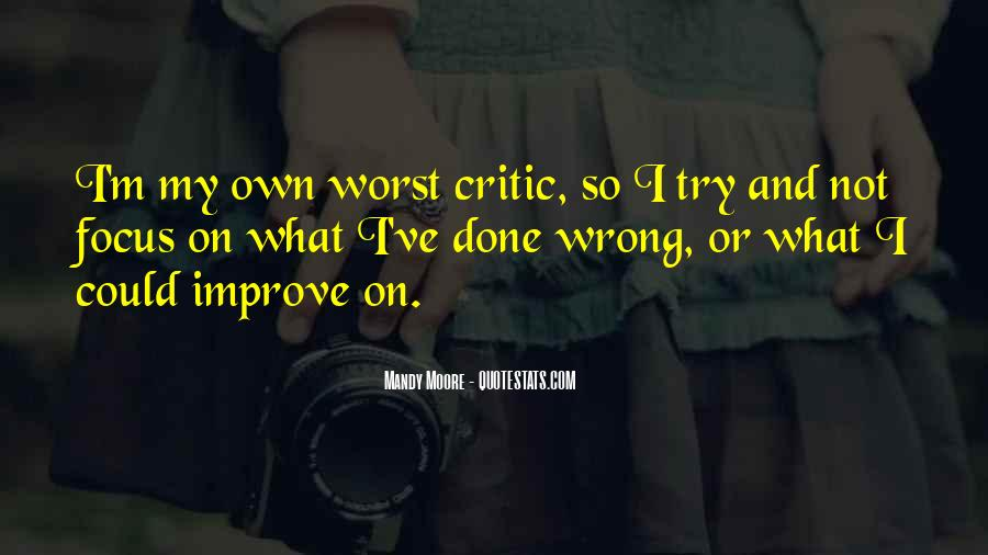 What I've Done Wrong Quotes #1705012