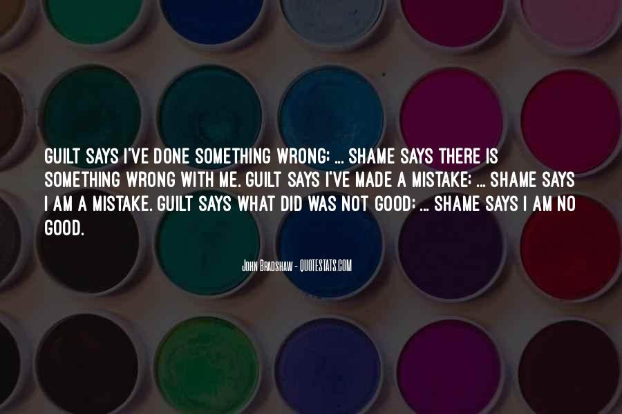 What I've Done Wrong Quotes #648719
