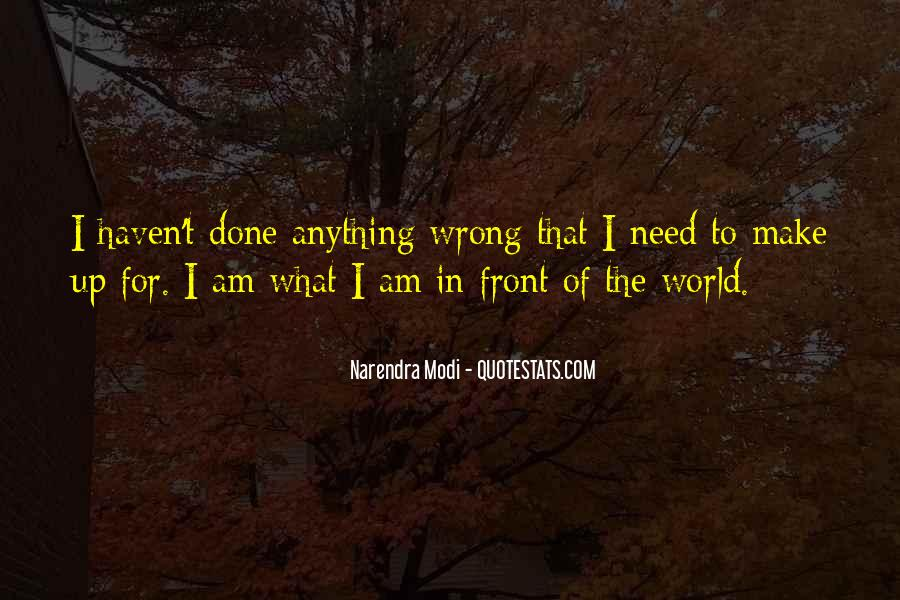 What I've Done Wrong Quotes #968642