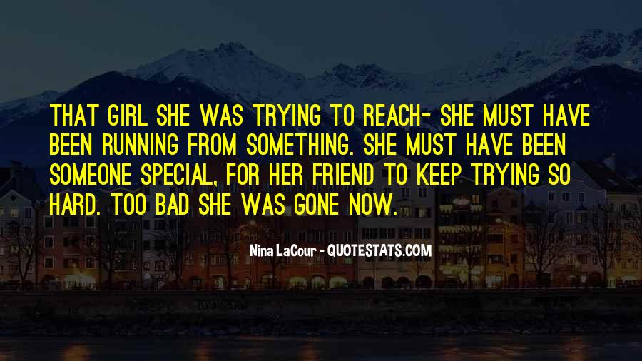 What Is A Bad Friend Quotes #189138