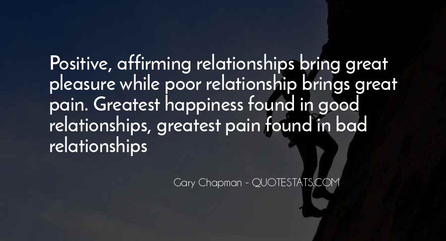 What Is A Great Relationship Quotes #112780