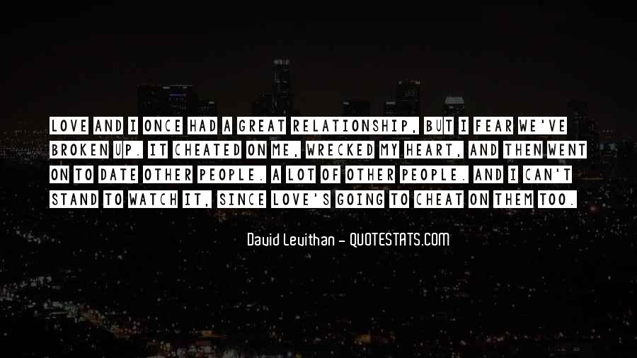 What Is A Great Relationship Quotes #13778
