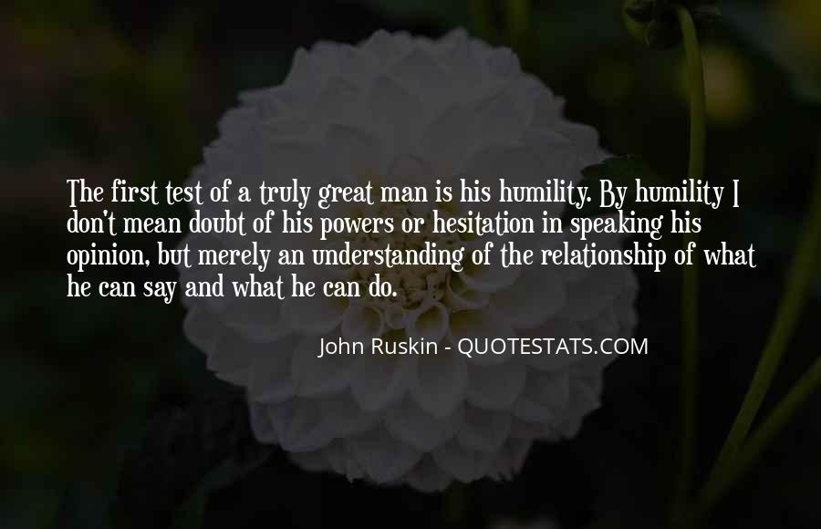 What Is A Great Relationship Quotes #1769170