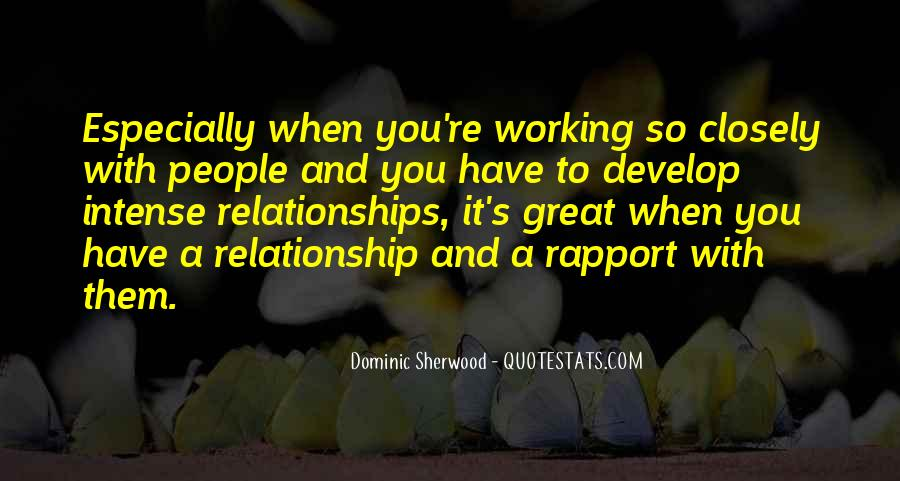 What Is A Great Relationship Quotes #190311