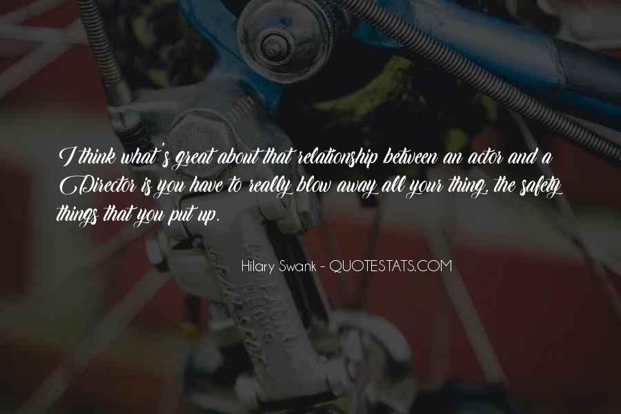 What Is A Great Relationship Quotes #196618
