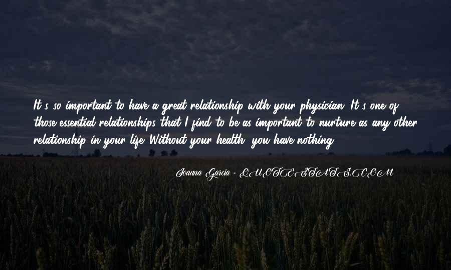 What Is A Great Relationship Quotes #197942