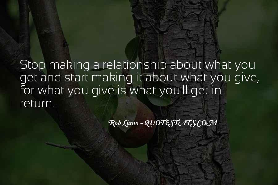 What Is A Great Relationship Quotes #355006